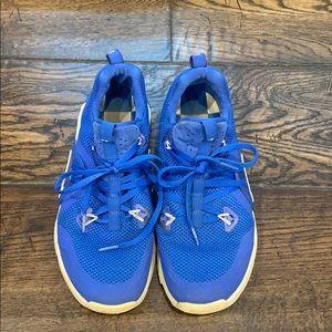 Nike Kentucky Wildcats Zoom Mens Boys Shoe 8 blue